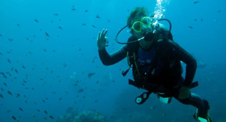 Happy Diver :-)