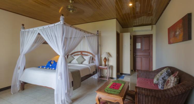 Deluxe room @ Puri Wirata